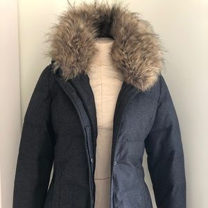 prAna Jacket with removable faux fur collar